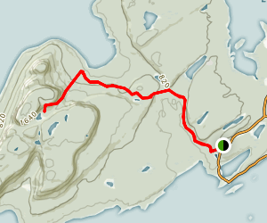 Talus Lake Trail Map