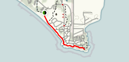 Rock Point Provincial Park Trail Map