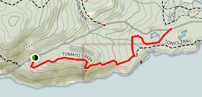 Tomato Creek Trail Map
