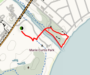 Marie Curtis Park Trail Map