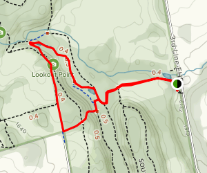 Cliff Top Side Trail Map