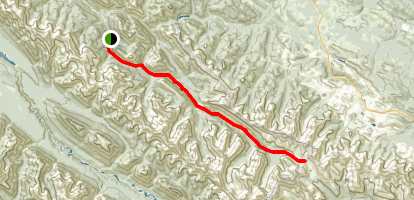 Fiddle River Trail Map