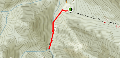 Source Springs Trail Map