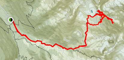 Sir Donald Trail Map