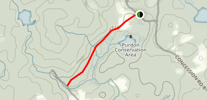 Purdon Bog Trail  Map
