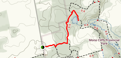 McCarston's Lake Side Trail  Map