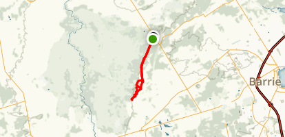 Mad River Section - Ganaraska Hiking Trail Map