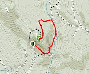 Alberni Valley Lookout Trail Map