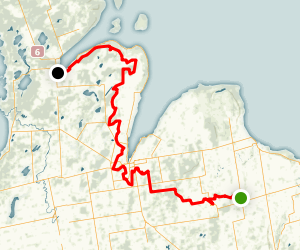 Bruce Trail: Sydenham Section Map