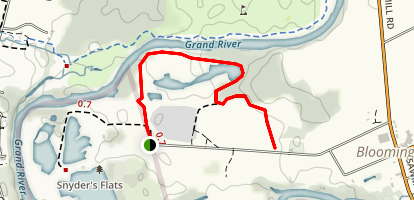 Snyder Flats Trail Map