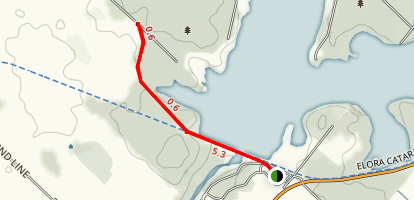 Belwood Lake Conservation Trail Map