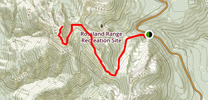 Old Glory Trail Map