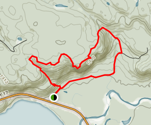 Awausee Trail  Map