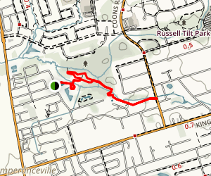 East Humber Trail  Map