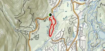 Emerald Forest 1 and 2 Loop Trail Map