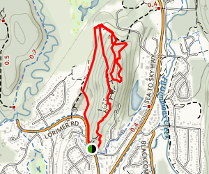 Cut Yer Bars Trail Map