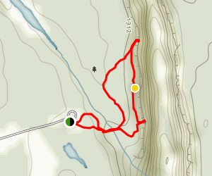 Ouimet Canyon Trail Map