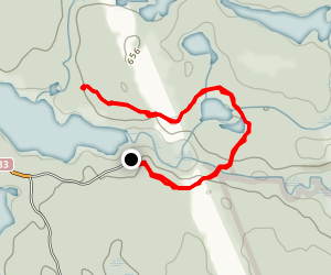 Gibson Wilderness Trail  Map