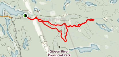 Five Winds Trail Map
