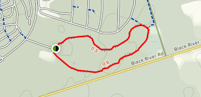 Sibbald Point Loop Trail Map