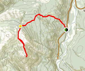 Mount Stearn Trail Map
