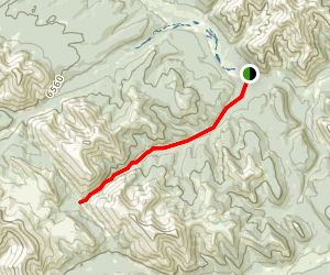 Canary Creek Trail Map