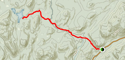 Siamese Ponds Hike Map