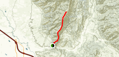 Baldy Peak Summit Map