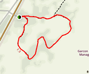Garcon Point Loop Trail Map