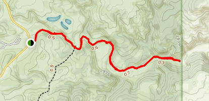 Wind Cave Canyon Trail Map