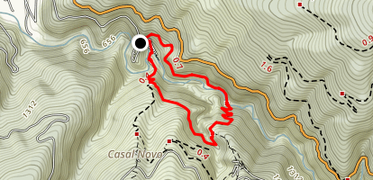 Lousa Trail Map