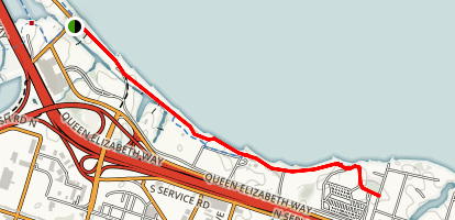 Hamilton Waterfront Trail Map