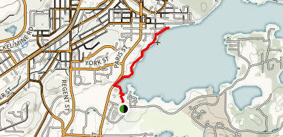 Bell Park Walkway Trail Map