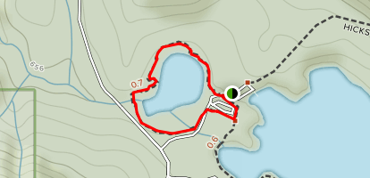 Hicks Lake Beaver Pond Trail Map
