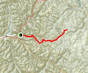 Hudson Bay Brigade Trail Map