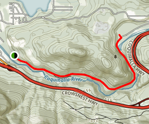 Kettle Valley Othello Tunnels Trail Map