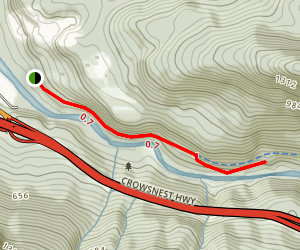 Kettle Valley Trail Map