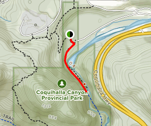 Othello Tunnels Path Map
