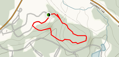 Lookout Tower Trail Map