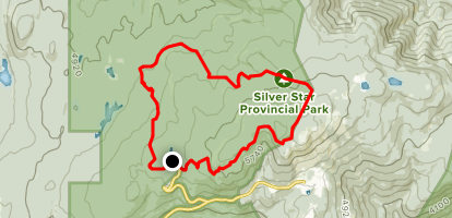 Silver Star Provincial Park Loop Trail Map
