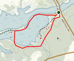 Wallace Bay National Wildlife Area Loop Map