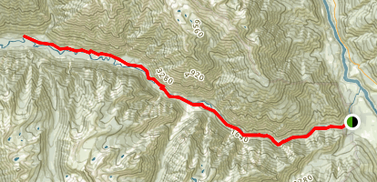 Stein River Trail Map