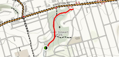 Glen Stewart Park Trail Map