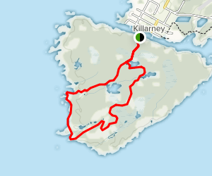 George Island Trail  Map