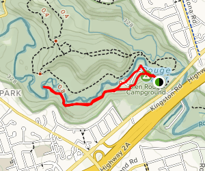 Oak Trail and Willow Way Loop Map