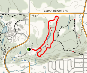 Bush trail  Map