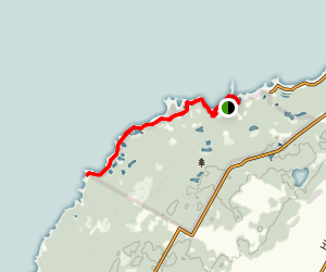 Old Shore Road Trail Map