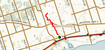 Bowmanville Trail Map