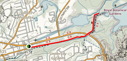 Spencer Creek Trail Map