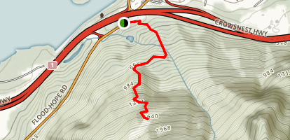 Hope Lookout Trail Map